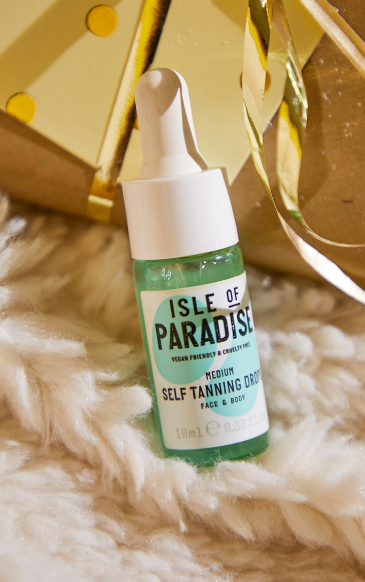 Isle of Paradise Christmas Glow Baby Glow Tanning Drops 2