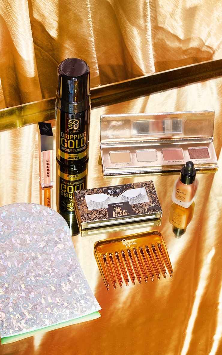 PRETTYLITTLETHING Gold Edition Beauty Box (Worth £71.00) 3