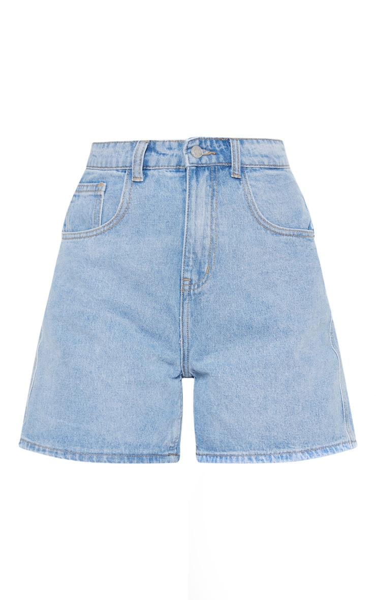 Light Blue Mom Shorts 3