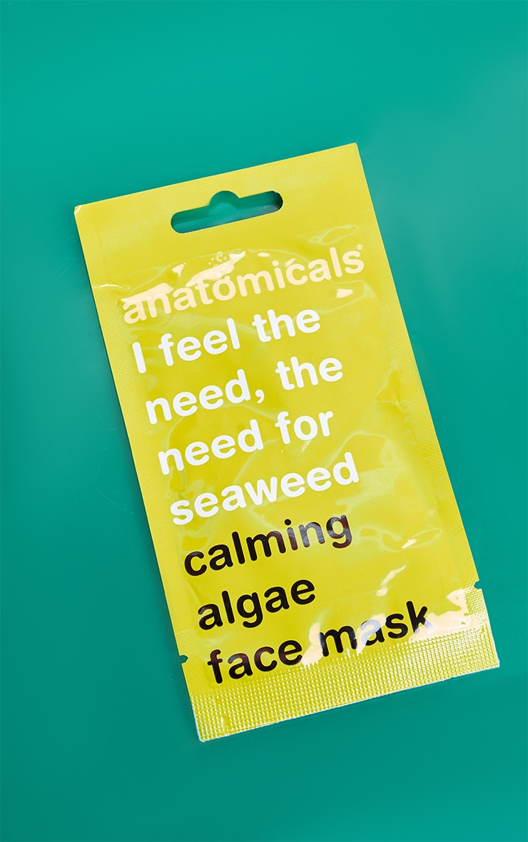 Anatomicals I Feel The Need, The Need For Seaweed Face Mask 3