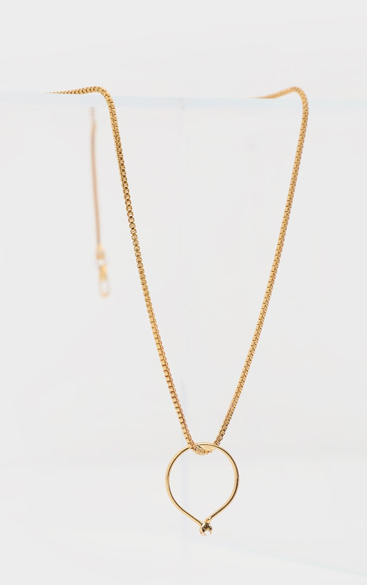 Gold Delicate Chain Necklace 2