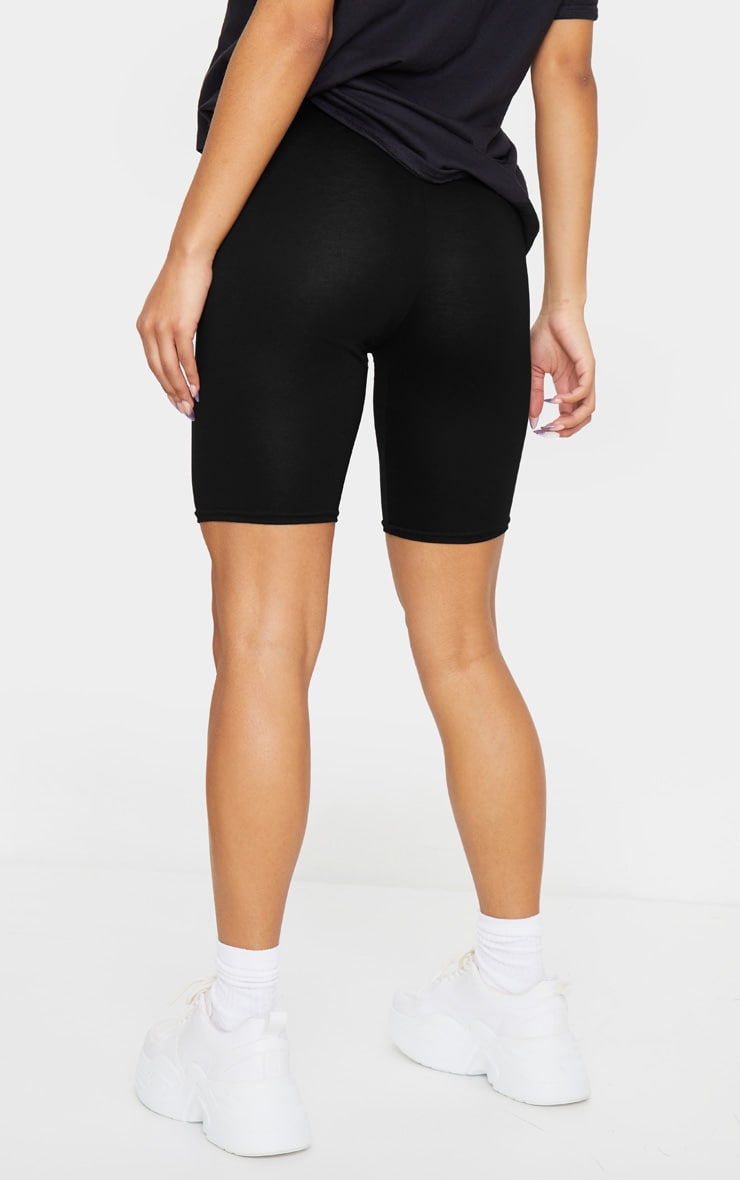 Black and Grey Basic Bike Short 2 Pack 3