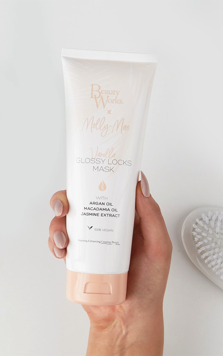 Beauty Works x Molly Mae - Masque pour less cheveux Glossy Locks 250ml 1