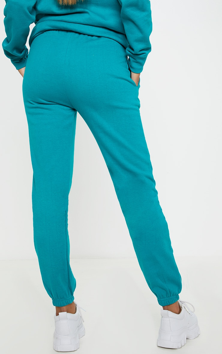 Teal Beverly Hills Slogan Jogger 4