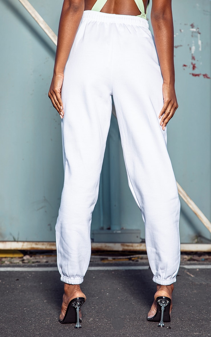 White Casual Jogger 4