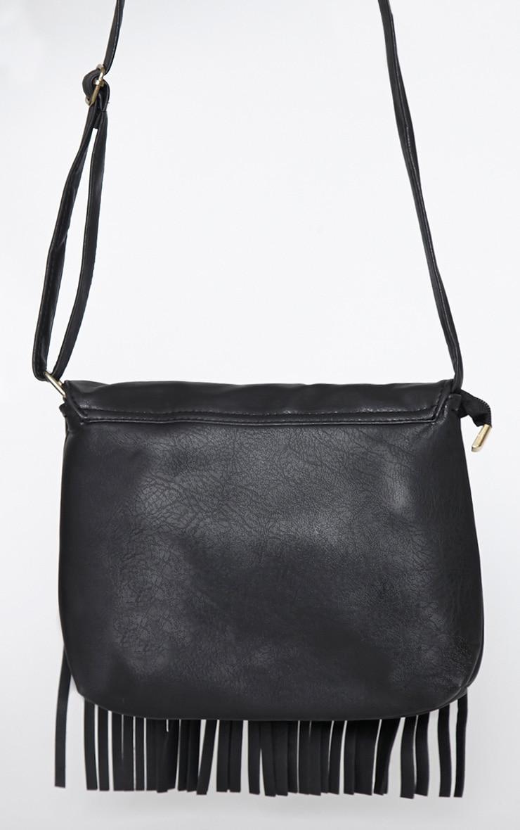 Monna Black Tassel Bag 4