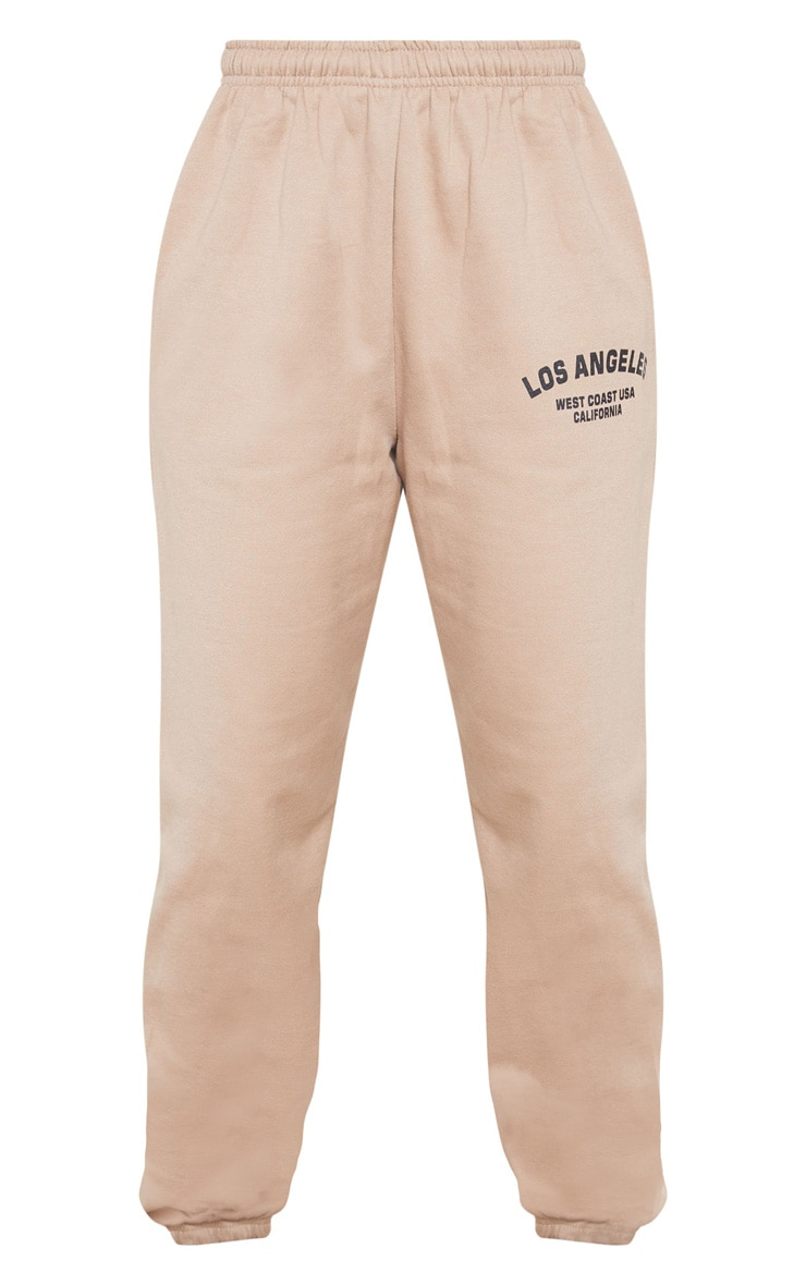 Taupe Los Angeles Casual Jogger 5