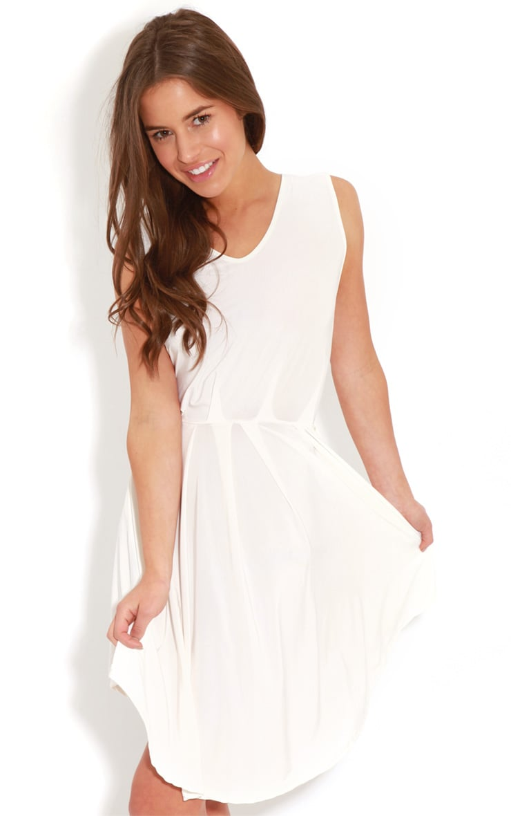 Anita White  Swing Dress 1