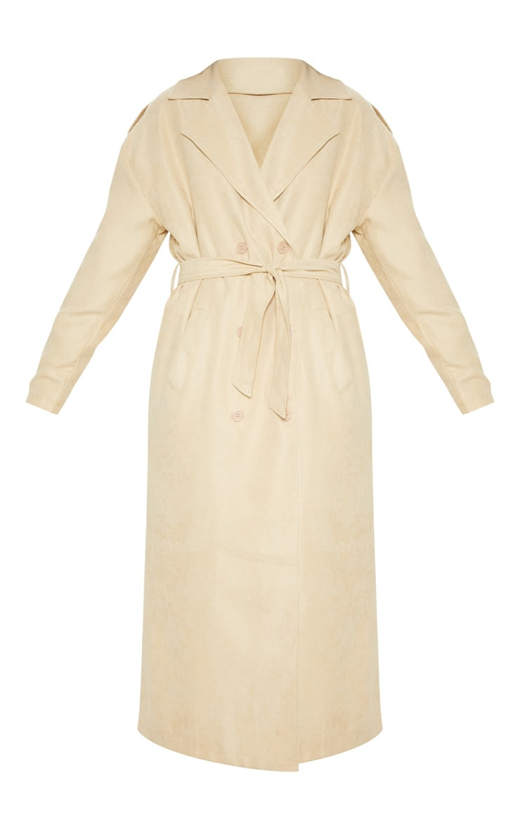 Stone Cord Belted Trench 3