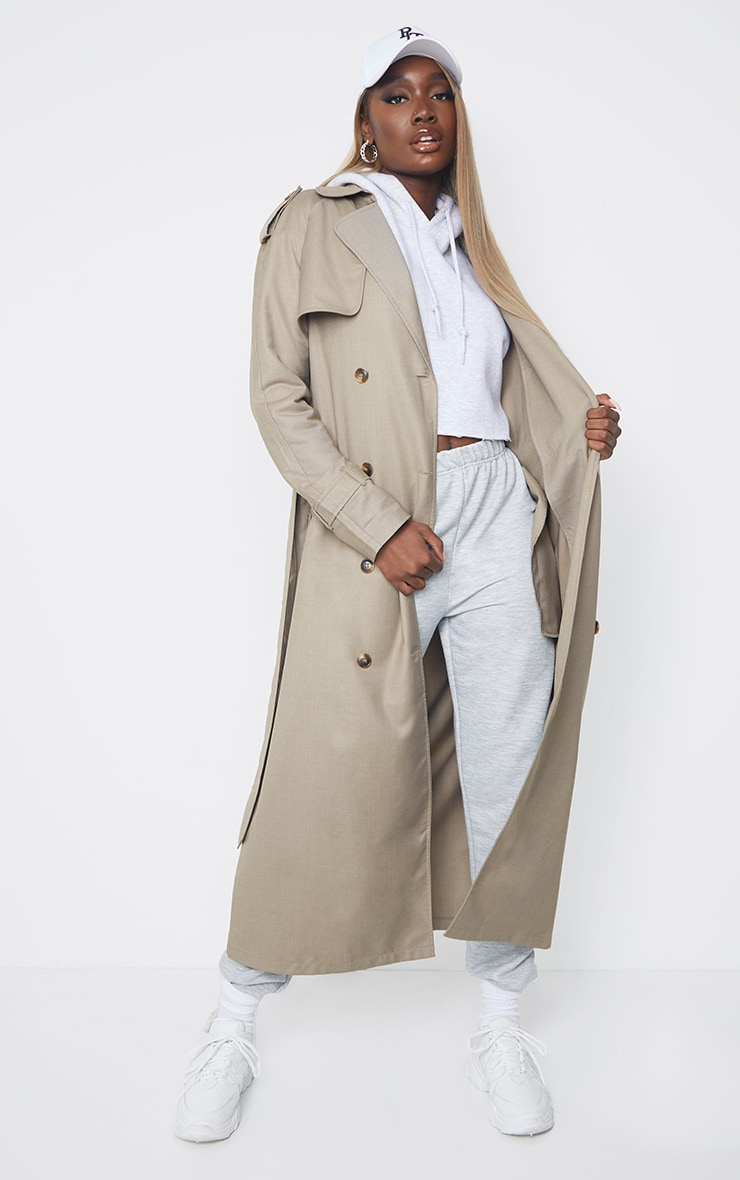 Tall Stone Oversized Trench 3