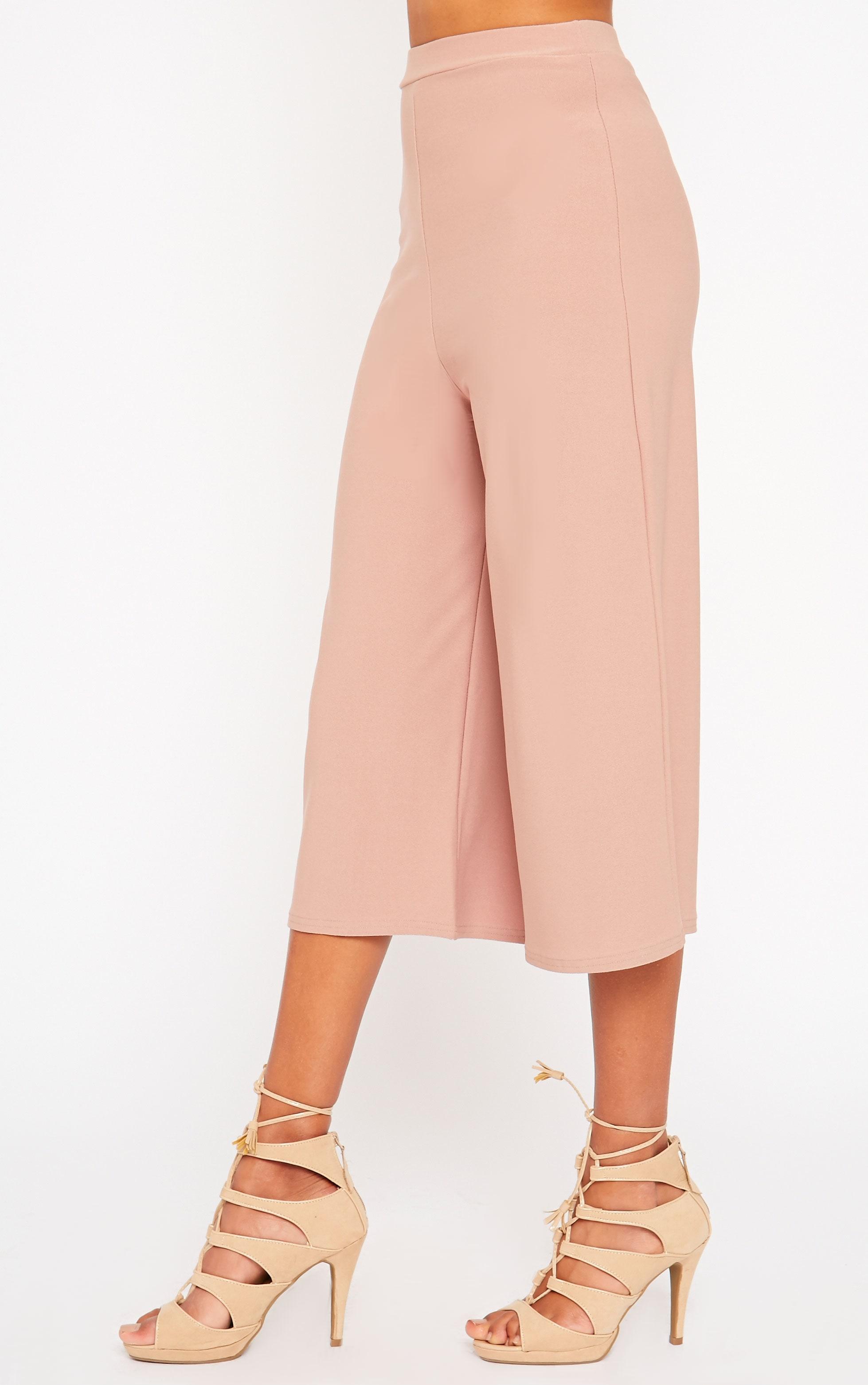 Zafia Dusty Pink Culottes 3