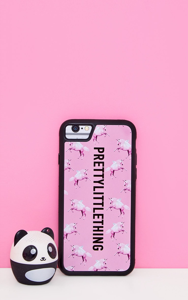 PRETTYLITTLETHING Unicorn Pink iPhone 8 Case 1