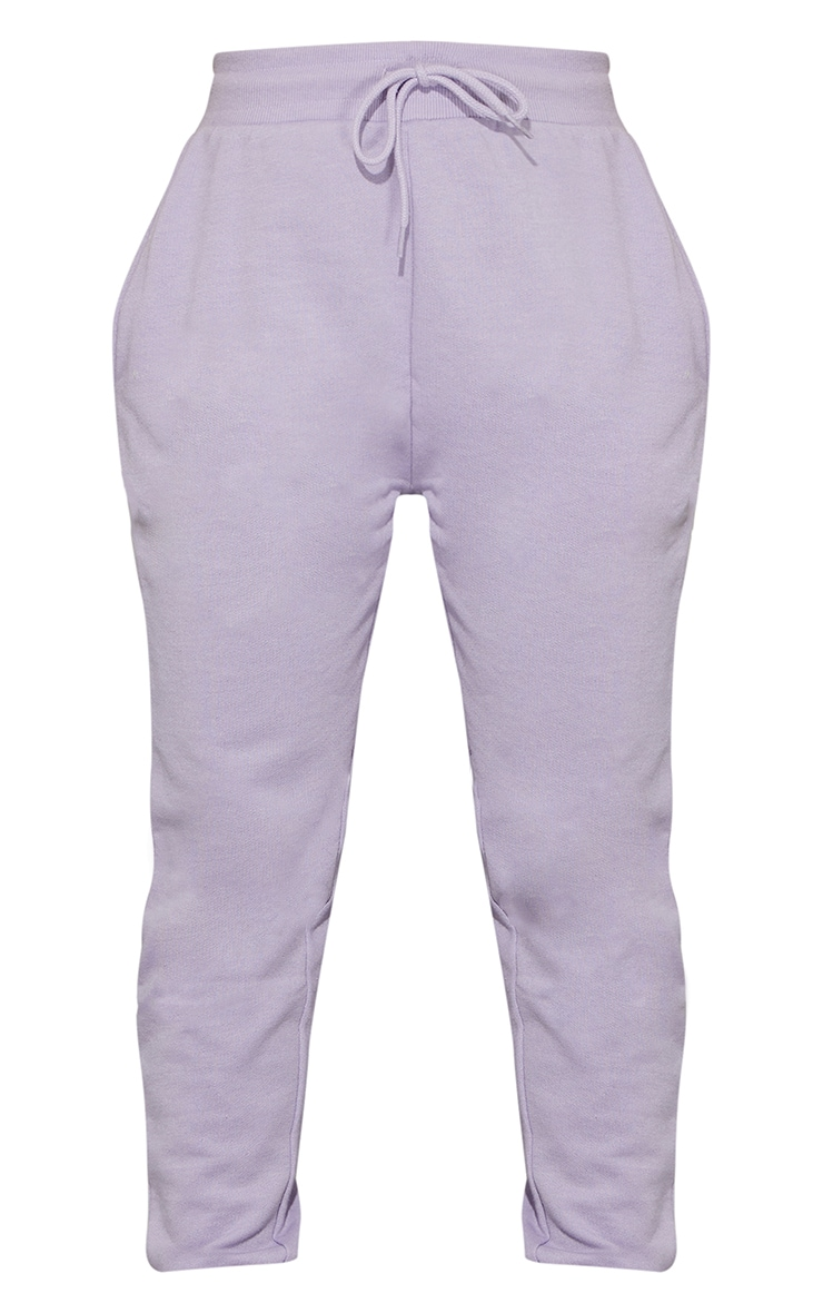 Lavender Diamante Detail Tapered Joggers 5