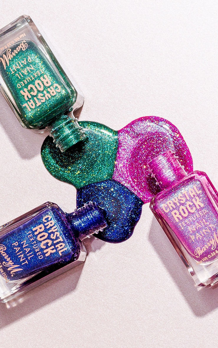 Barry M Crystal Rock Nail Paint Amethyst 5