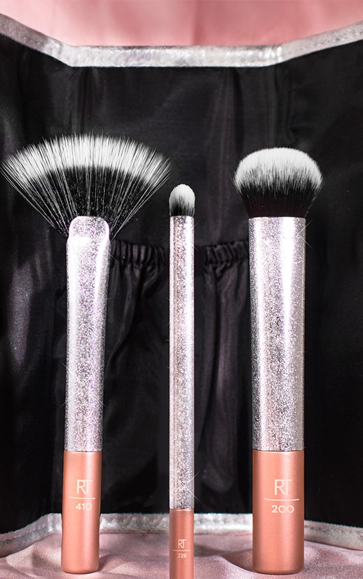 Real Techniques Sparkle More Brush Set 3