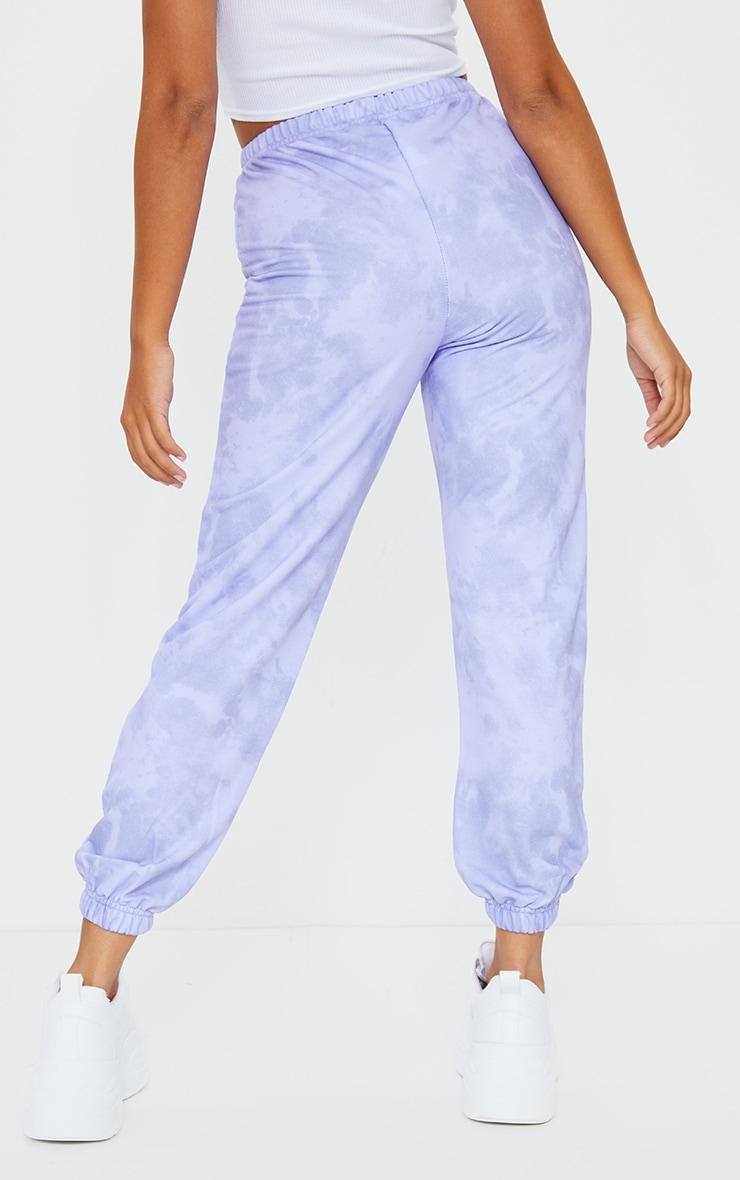 Petite Lilac Basic Tie Dye Jogger 3