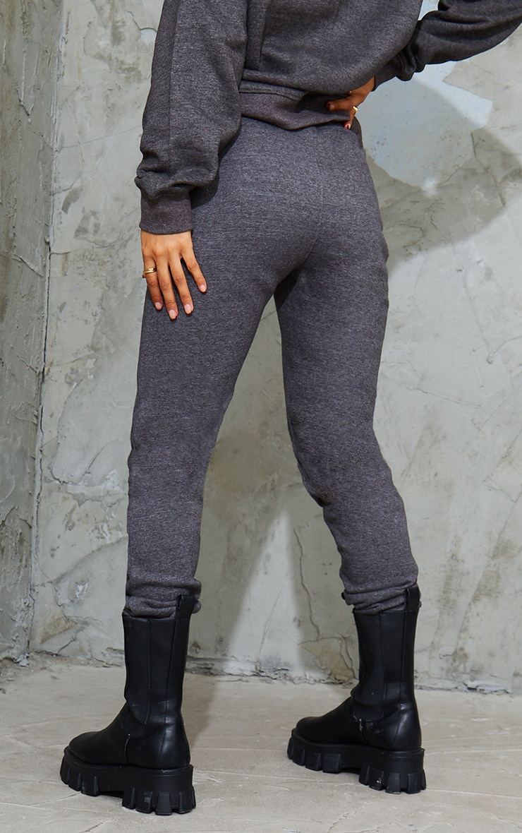 Jogging simple gris anthracite  3