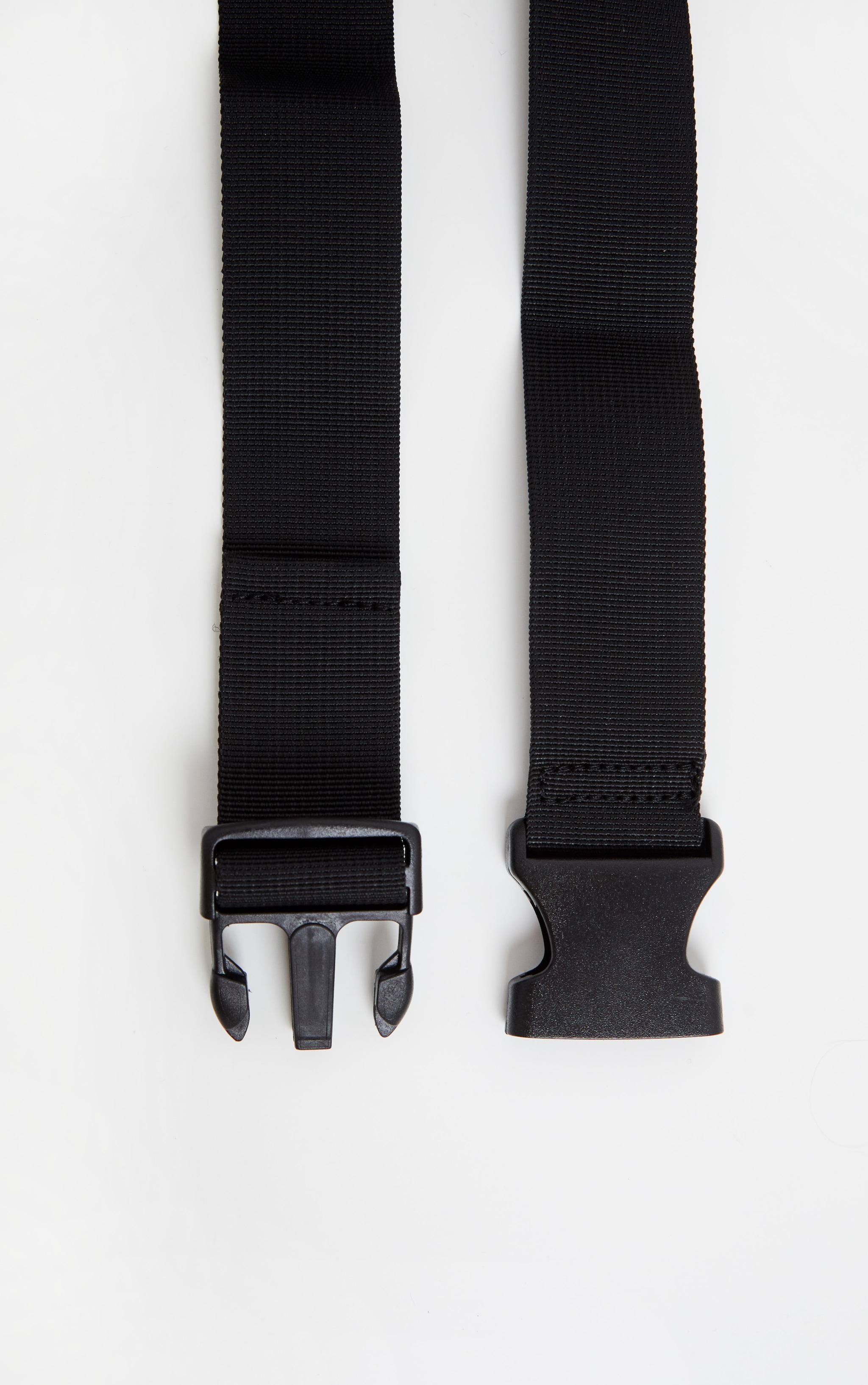 Clear Transparent Multi Zip Bum Bag 5
