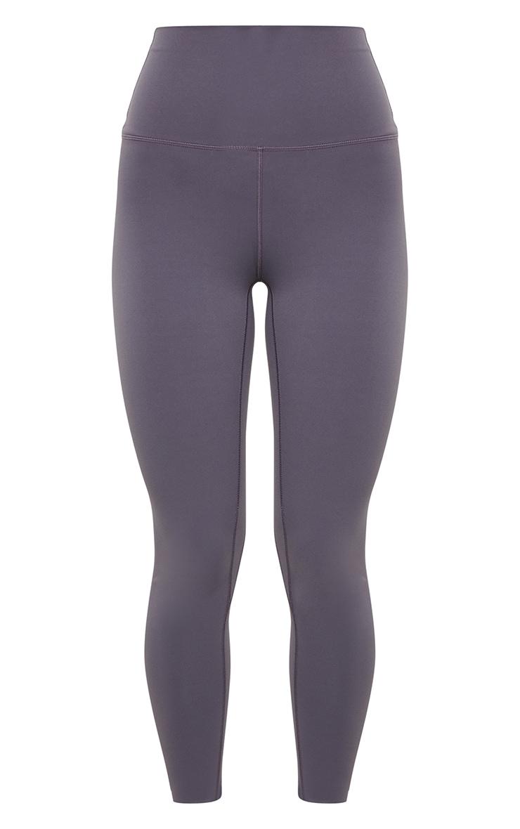 Dark Grey Sculpt Luxe Super High Waist Gym Leggings 5