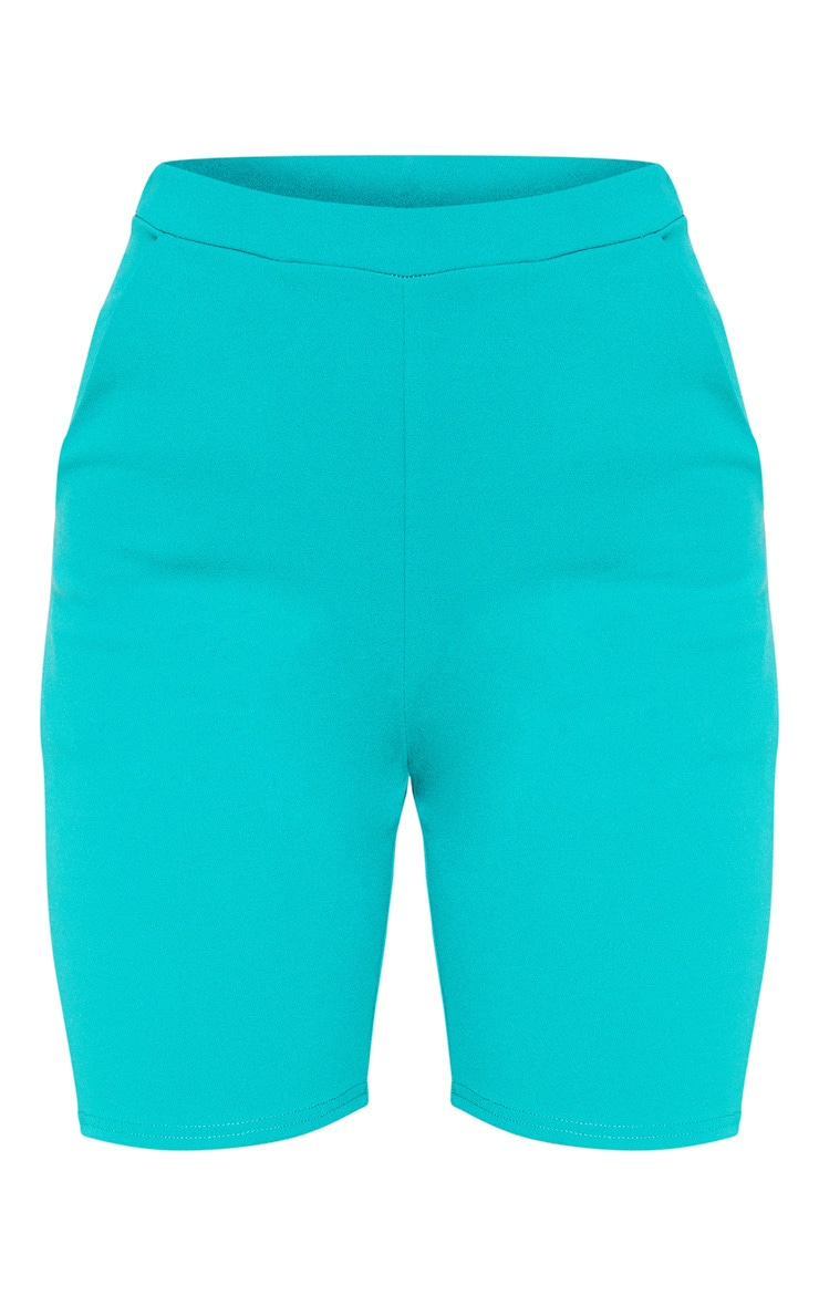 Teal Cycling Suit Shorts  3