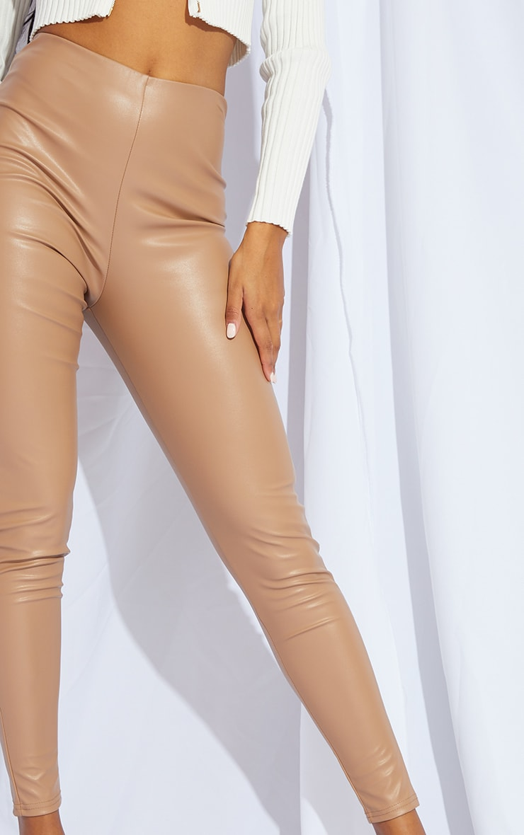 Stone Faux Leather Legging 4