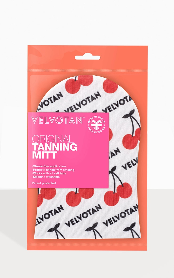 Velvotan Self Tan Applicator Original Body Mitt Cherry Pickin' 1