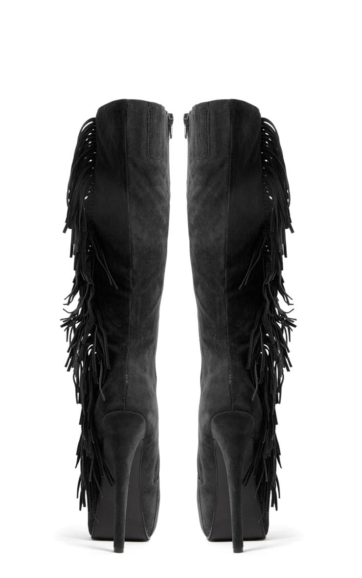 Cierra Knee Length Tassel Boot 3