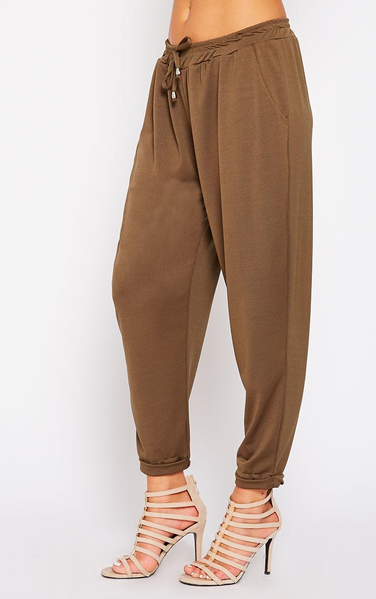 Connie Khaki Trousers 3