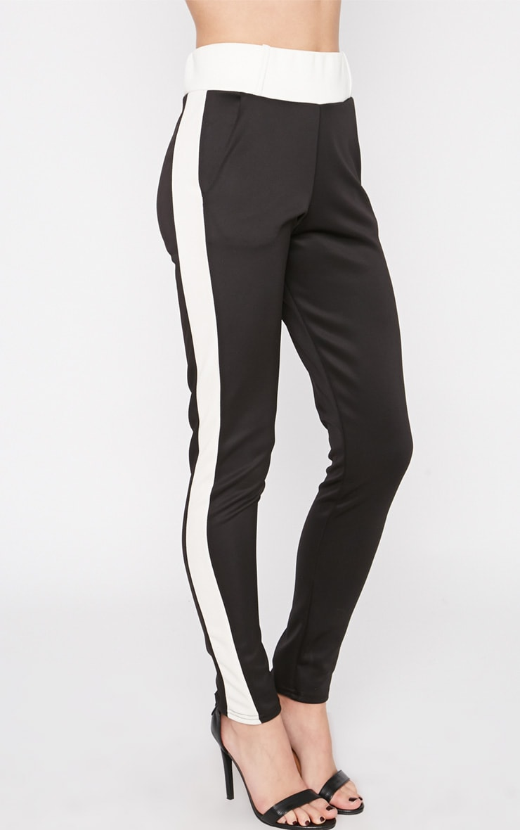 Suse Black White Stripe Jogger 3