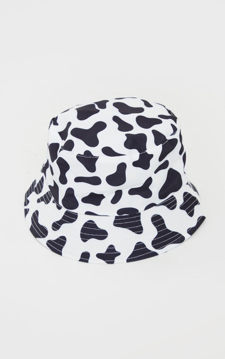 Cow Print Bucket Hat 2