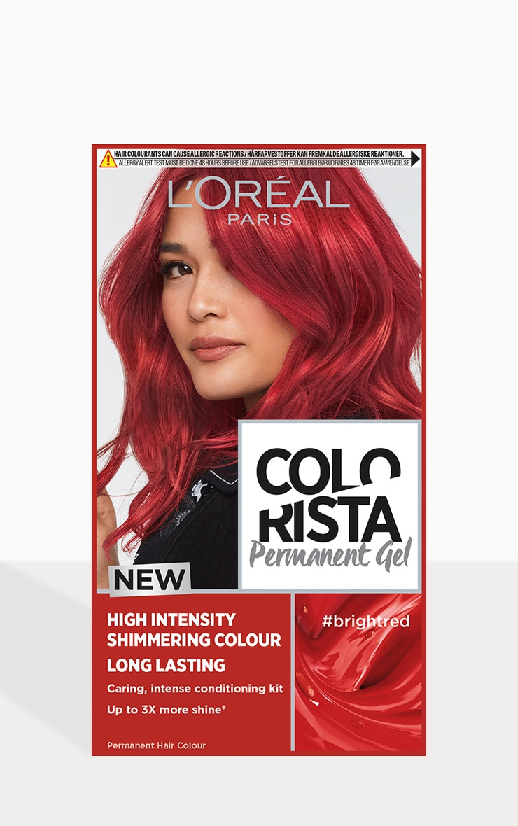 L'Oreal Colorista Bright Red Dye Long Lasting Permanent Hair Colour