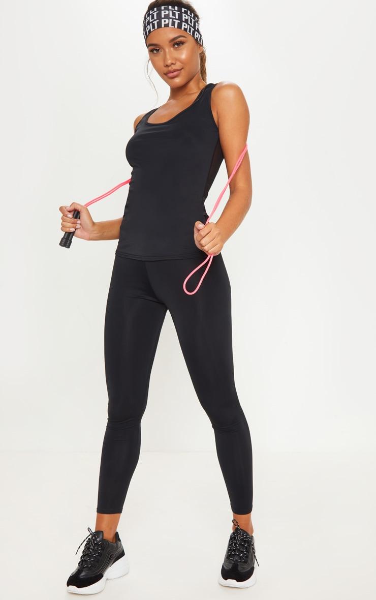 Legging de sport basique noir 1