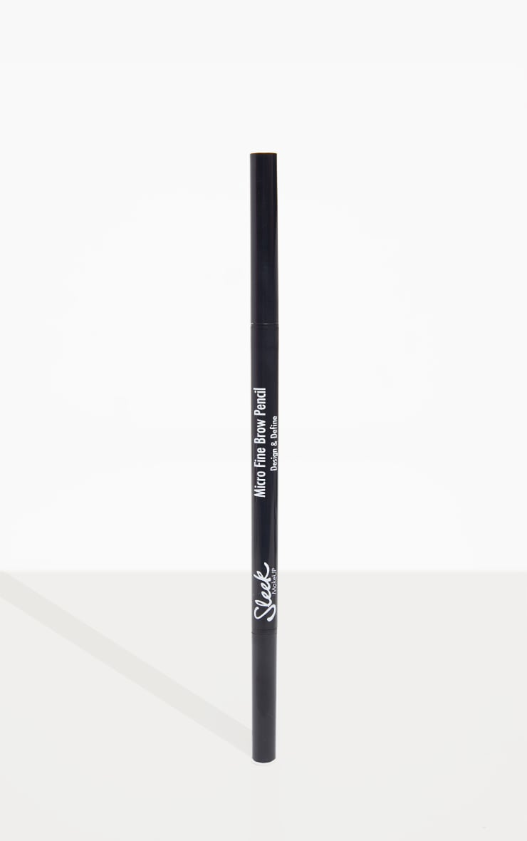 Sleek MakeUP Micro Fine Brow Pencil Medium Brown 3
