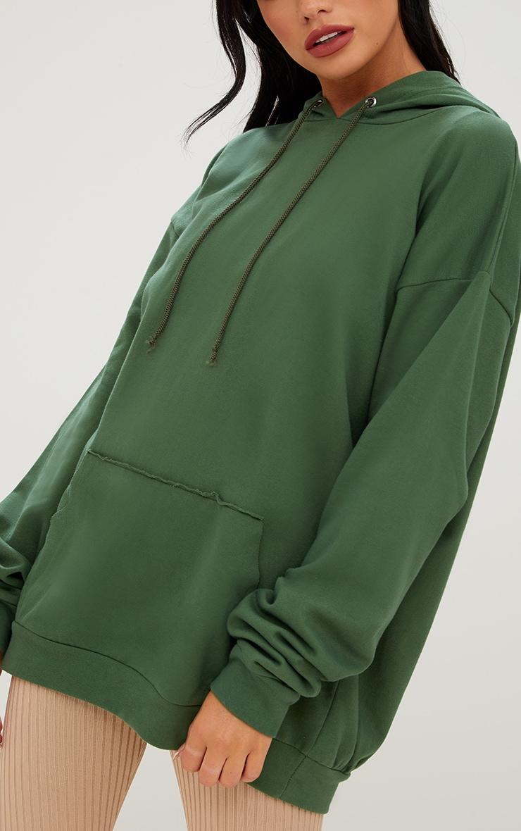 Khaki Oversized Hoodie 5