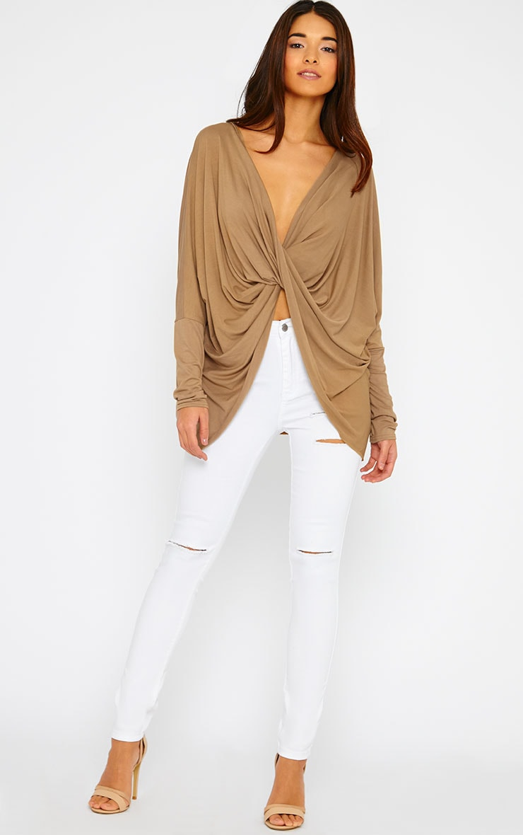 Miller Camel Twist front Top 3