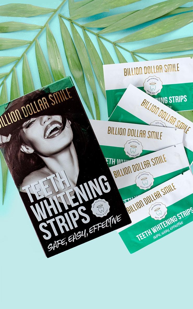 Billion Dollar Smile Teeth Whitening Strips 1