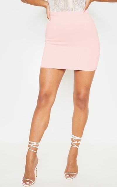 Milah Nude Scuba Mini Skirt