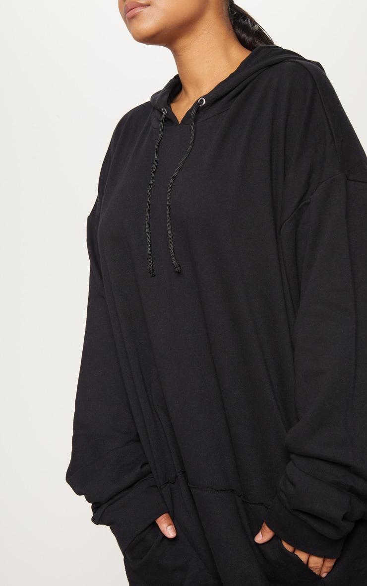 PLT Plus - Hoodie oversize noir 5