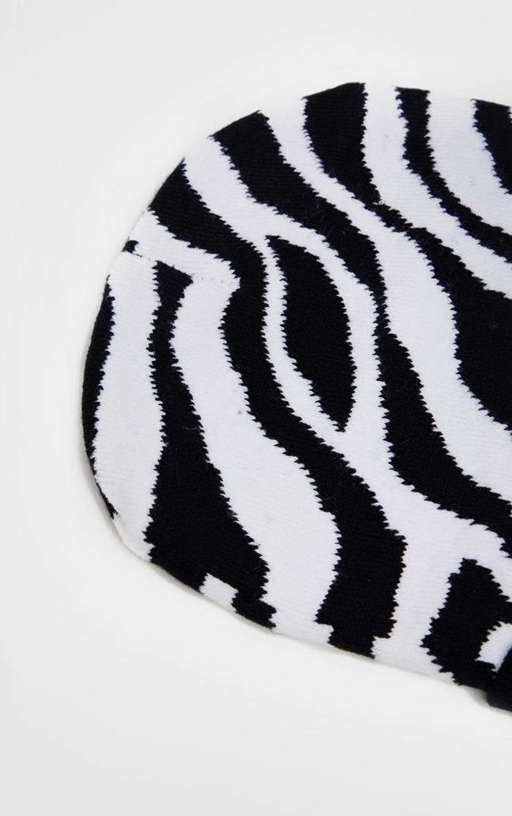 Zebra Beanie 3
