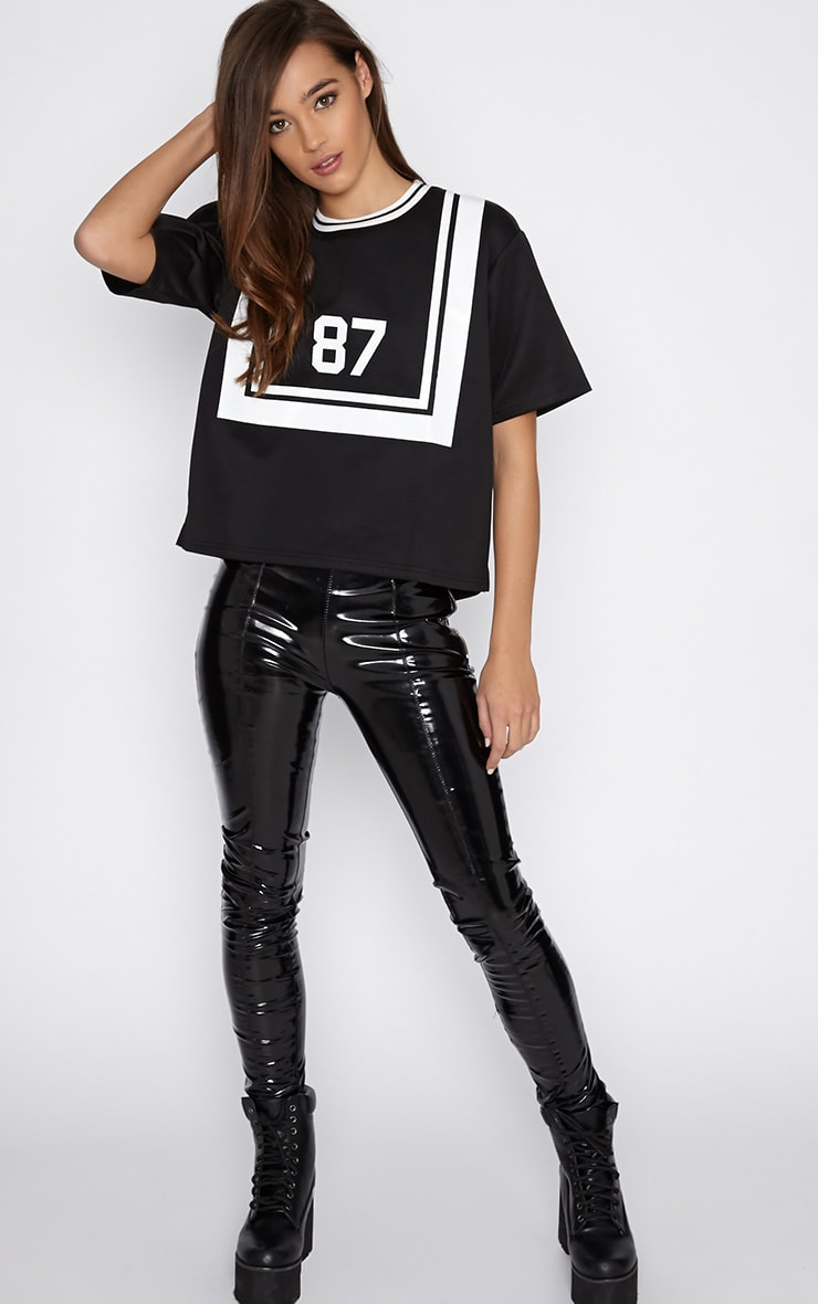 Camilla Black Sports '87' Box Tee 3
