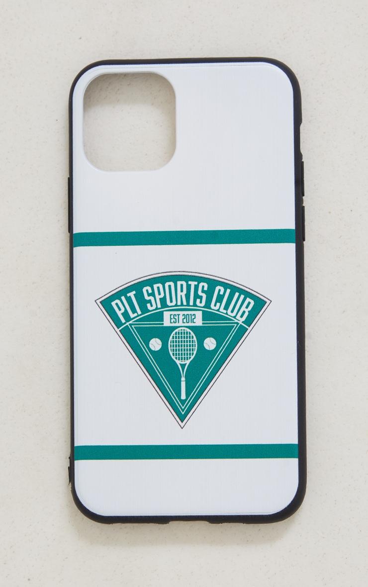 PRETTYLITTLETHING White Tennis Club iPhone X/XS/11 Pro Case 3