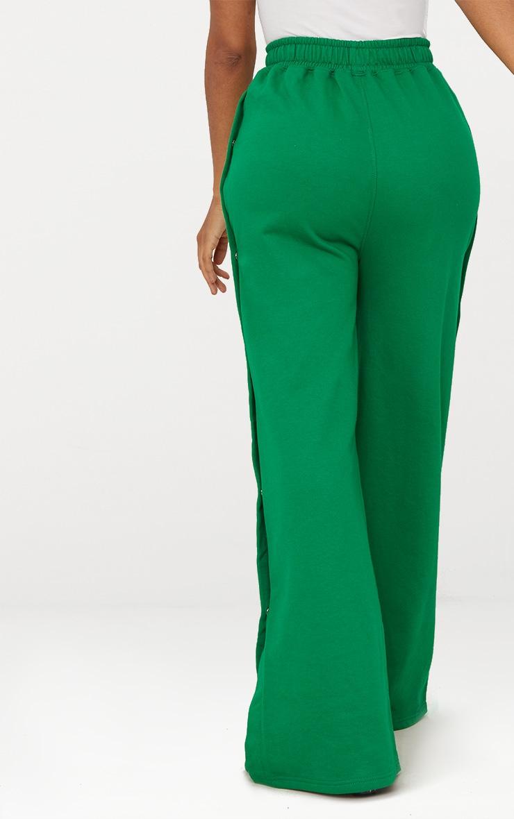 Shape Bright Green Popper Joggers 4