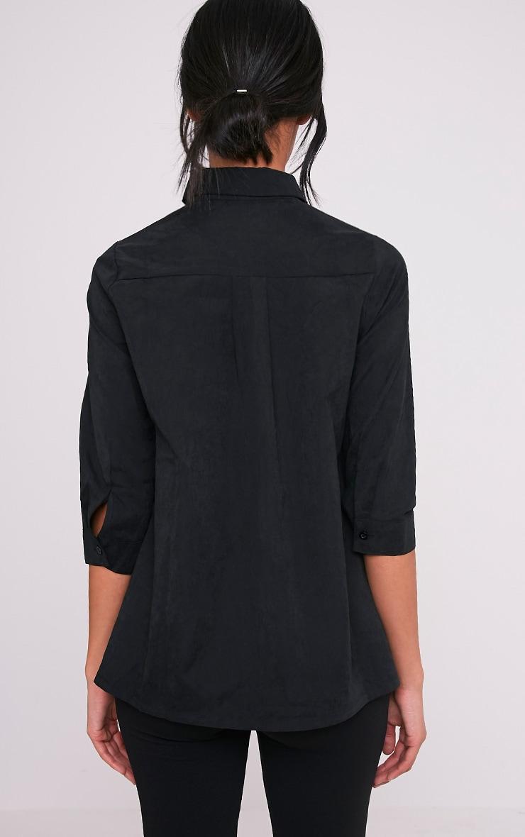 Basic chemise noire 2