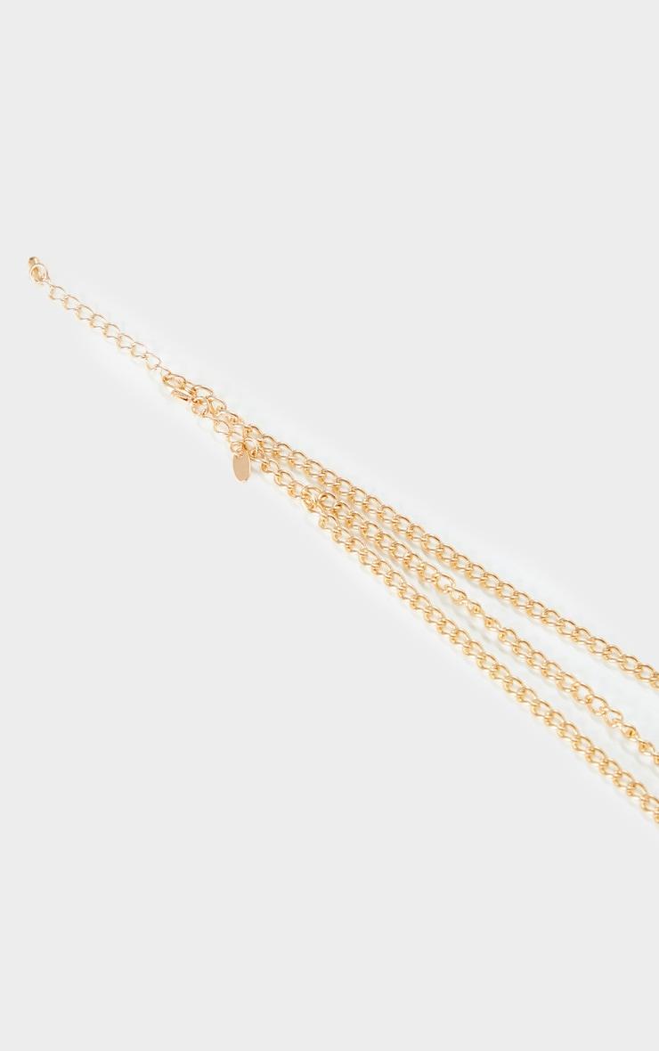Gold Chain Head Chain 3