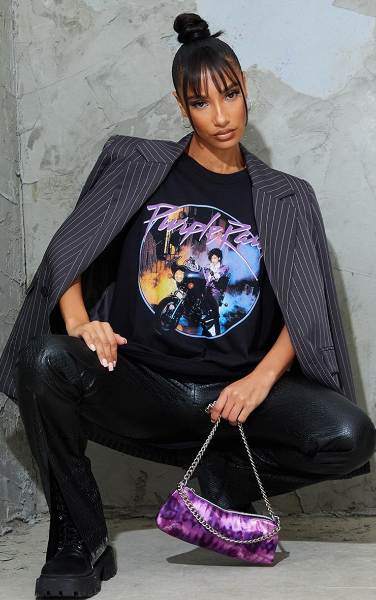 Black Prince Purple Rain Printed T Shirt 3