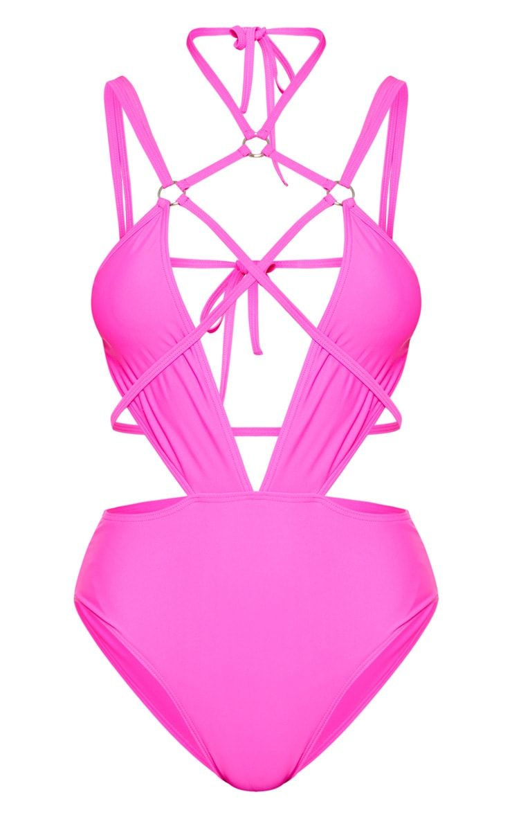 Pink Harness Swimsuit 3