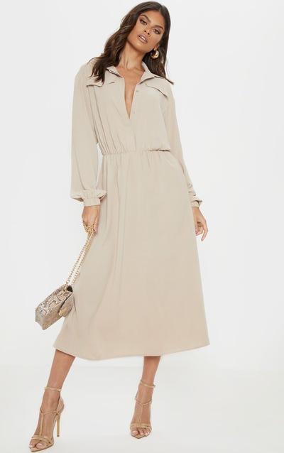 Robe longue   Robes maxi femme   PrettyLittleThing FR c3879085fdb2
