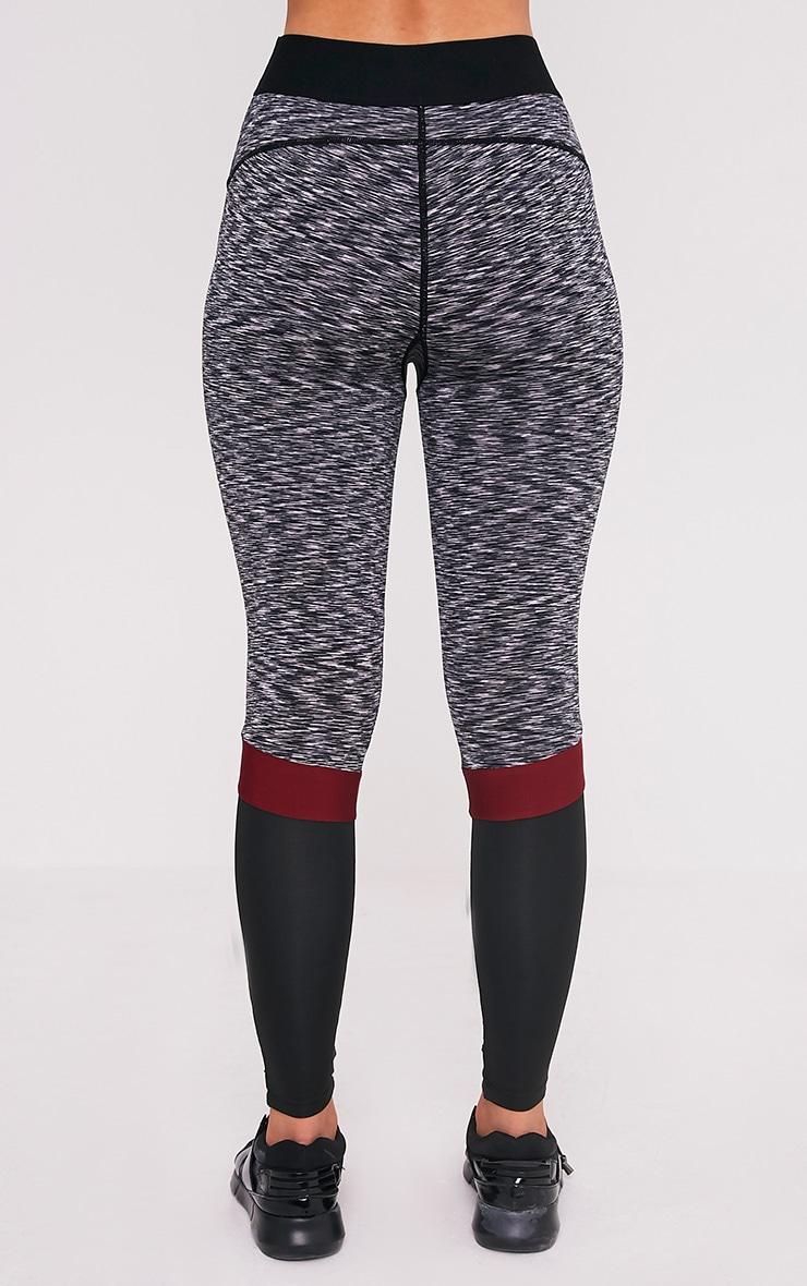 Kenna Berry Panelled Gym Leggings 5
