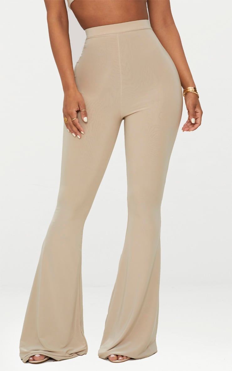 Shape Stone Slinky Flared Trousers 2