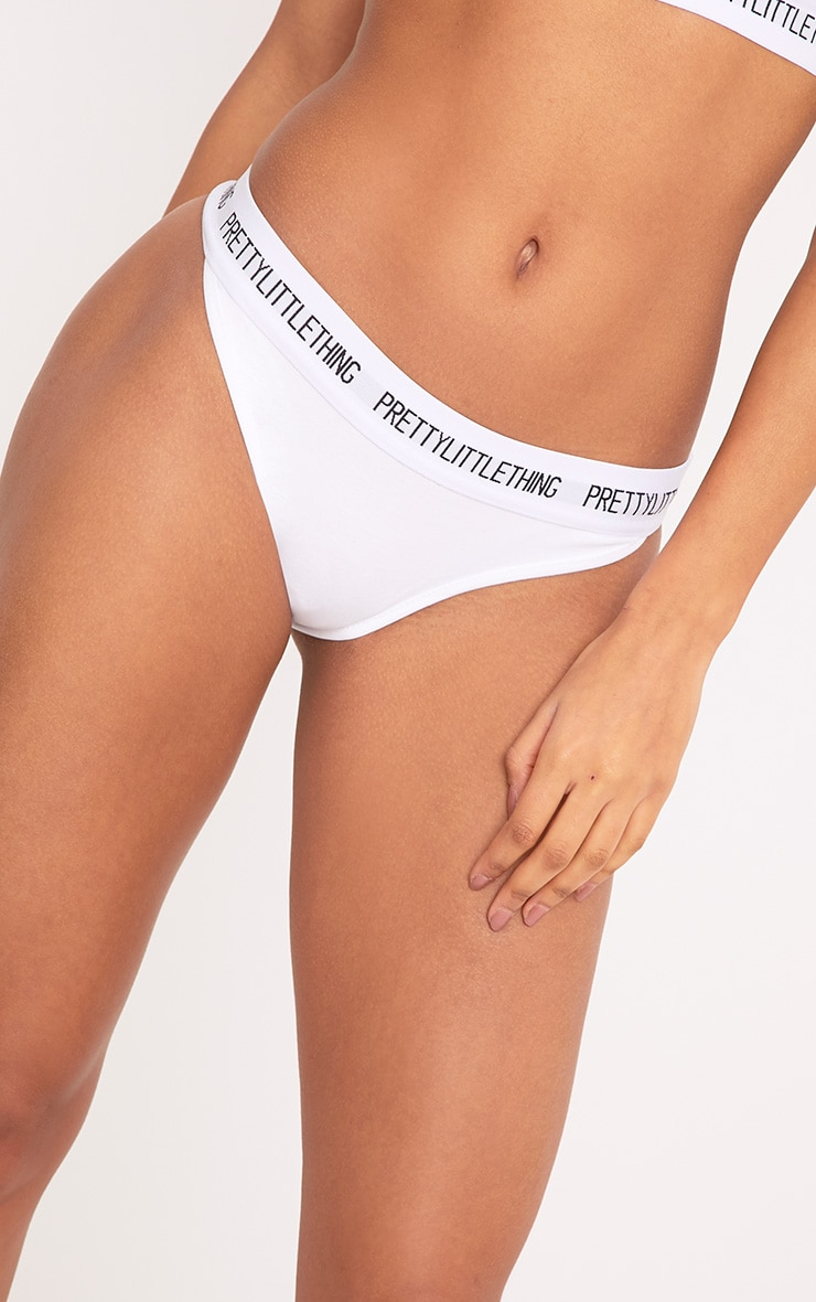 PRETTYLITTLETHING White Panties 7